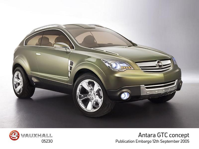 Taking The Rough With The Smooth - Vauxhall Reveals New Antara Gtc-38768vau-jpg