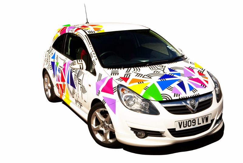 Vauxhall Teams up with Creative Talent Kate Moross-corsa-800x535-jpg