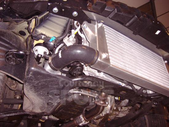 Vauxhall Astra VXR - Revised VXRacing Intercooler Kit-courtenayvxracingintercooler2_web-jpg
