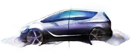 Vauxhall Meriva concept leaks out ahead of Geneva Motorshow-merivaconcept-sketch-jpg